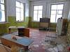 Kindergarten Classroom Chernoybl (cdobs82) Tags: kindergarten chernoybl classroom kiev ukraine tables 1986 april walls white green radiation papers
