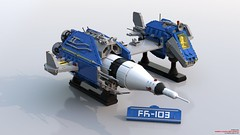 FR103.203 (Frombol) Tags: neoclassicspace classicspace lego spaceship