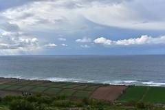 Farming around Doukkala (orientalizing) Tags: atlanticcoast clouds coast doukkalaregion landscape morocco seascape