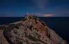 Startrails , Ursa Major ... Faro de Punta Grossa , Ibiza. (Anton Calpagiu) Tags: ibiza punta grossa lighthouse night stars startrails seascape