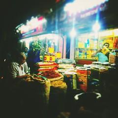 Chalai Bazaar, Trivandrum, Kerala (aelena) Tags: chalai market bazaar kerala trivandrum india streetmarket night urbannights urbanlights trade