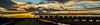 Wagon train (Peter Leigh50) Tags: pymoor fen landscape railway wagon rural railroad bridge hopper sky skyscape river water cambridgeshire winter afternoon late