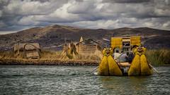 boat (Mariasme) Tags: lagotiticaca peru boat yellow reeds island uros friendlychallenges challengeyouwinner onthewater matchpointwinner t652 matchpointchampion