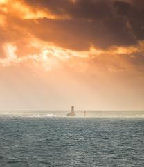 Ar-Men (ThibaultPoriel) Tags: lighthouse phare pointe pointeduvan pointeduraz bretagne finistere sky sunset sunrise storm weather stormy ocean water sea seascape landscape outdoors gh5 lumix lumixgh5 panasonic scenic