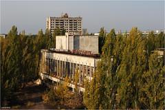 The abandonned city of Pripyat, Ukraine (Aad P.) Tags: chernobyl чорнобиль pripyat припять ukraine україна sovietunion cccp nuclearpowerplant radioactivity radiation urbex urbexphotography exclusionzone