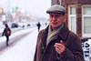The boss of Amsterdam (AlexanderLinde) Tags: amsterdam noord sigaret snow winter netherlands holland