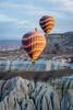 Magic Cappadocia in Turkey (gauvin,pictures) Tags: cappadocia turkey goreme anatolia panorama landscapes fairychimneys cave hotairballoonexperience greenroute derinkuyu selimemonastery