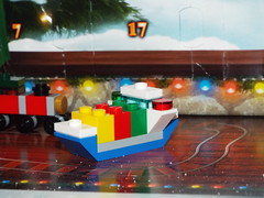 Our Ship's Come In (Paranoid from suffolk) Tags: 2017 lego city advent calendar day14 model ship boat