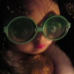 Goldie - Lit by Candlelight (jefalump) Tags: macromondays takara goldie litbycandlelight petiteblythe allgoldinone