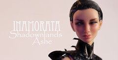 Shadowlands Ashe - Inamorata OOAK (em`lia) Tags: inamoratadoll inamorata emiliacouture shadowlands art doll bjd 16 resin ooak bespoken wetsculpting leather armour scifi character design knife dagger sword quarterstaff flag banner weapons fantasy