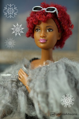 winter is coming (photos4dreams) Tags: barbie mattel doll toy diorama photos4dreams p4d photos4dreamz barbies girl play fashion fashionistas outfit kleider mode puppenstube tabletopphotography aa beauties beautiful girls women ladies damen weiblich female funky afroamerican afro schnitt hair haare afrolook darkskin africanamerican bobbyjean