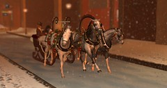 Troika (Commander Snoots) Tags: horse rh real realhorse second secondlife lift sl game equine