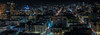 from the 26th floor of the parc 55 hotel (pbo31) Tags: bayarea california nikon d810 color night dark black december 2017 boury pbo31 boxingday sanfrancisco city urban over skyline view cityhall civiccenter tenderloin unionsquare parc55 hilton hotel 26 lightstream traffic motion panoramic large stitched panorama rooftops