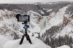 Live video from Lookout Point (YellowstoneNPS) Tags: grandcanyonoftheyellowstone lookoutpoint lowerfalls ynp yellowstone yellowstonenationalpark yellowstoneriver fotopro snow winter