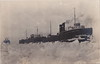 """SHIP Frankfort Elberta MI RPPC AARR STEAMER CAR FERRYS No. 5 INBOUND BUT ICED OUT OF THE HARBOR THE CHANNEL & BETSIE BAY Real Photo Postcard Photographer UNK (UpNorth Memories - Donald (Don) Harrison) Tags: vintage antique postcard rppc """"don harrison"""" """"upnorth memories"""" upnorth memories upnorthmemories michigan history heritage travel tourism restaurants cafes motels hotels """"tourist stops"""" """"travel trailer parks"""" cottages cabins """"roadside"""" """"natural wonders"""" attractions usa puremichigan """" """"car ferry"""" railroad ferry excursion boats ships bridge logging lumber michpics"""