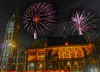 Hello 2018 (Karolina Jantas) Tags: rochdale town hall fireworks night sky clock hdr midnight new year 2018