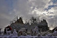 Marché de Noël - Colmar (hervétherry) Tags: france grandest alsace hautrhin colmar canon eos 7d efs 1022 marché noel nuage contrejour