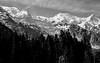 Mont Blanc and the French Alps BW: Chamonix 1993 (mharoldsewell) Tags: 1993 2018 chamonix france frenchalps georgia montblanc snow mharoldsewell mikesewell photos slid