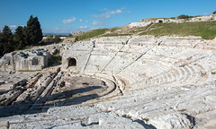 Greek amphitheatre, Siracusa (Andrea Schaffer) Tags: sicilia 2017 december winter italy italia italie sicily siracuse syracuse greekamphitheatre sicile italien limestone teatrogreco theatre archeologicalpark parcoarcheologico neapolis siracusa sizilien 西西里岛 シチリア島 europe southernitaly parcarcheologique σικελία sicilija صقلية sicilya