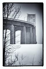 2018-01-07 7/365 Canada-US International Bridge (Rick McCutcheon) Tags: 365the2018edition 3652018 day7365 07jan18 100xthe2018edition 100x2018 image4100 bridge canadausbridge d750 nikon silverefexpro2 tamron 70200g2