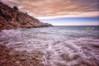 (016/18) Movimiento contínuo (Pablo Arias) Tags: pabloarias photoshop photomatix capturenxd españa cielo nubes largaexposición mar agua mediterráneo roca bahía paisaje cala tiotximo benidorm alicante