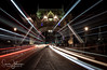 """ Stuck In The Middle "" (simonjohnsonphotography.uk) Tags: towerbridge nikon london longexposure thecity lighttrails simonjohnsonphotography nightshoot nightphotography nikonuk photography"
