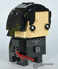 Star Wars LEGO 41489 Rey & Kylo Ren (KatanaZ) Tags: starwars lego41489 reykyloren lego brickheadz rey kyloren