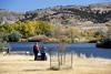 Visitors at Bessemer Bend - Bessemer Bend (BLM_Wyoming) Tags: bessemer bend north platte river visitors interpretive
