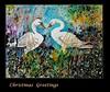 Greetings! (tina negus) Tags: swans card painting art haiku poetry poem