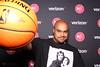 Hawks Game (Chuck Diesel) Tags: basketball atlantahawks starwars markhamill lukeskywalker princessleia carriefisher philipsarena spalding palm nba bald snapsterbooth photobooth