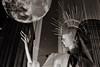(Elena Miari) Tags: full moon london mannequin shopwindows display shop oxford street bond regent christmas city surreal reflection blackandwhite