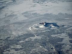 Pahvant Butte (kenjet) Tags: aerial aerialview windowseat westernusa us west landscape terrain utah butte pahvant volcano dormant peak peaks