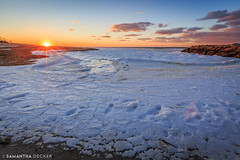 The Frozen Tide (Samantha Decker) Tags: canonef1635mmf28liiusm canoneos6d capecod ma massachusetts newengland outercape samanthadecker uwa wideangle