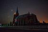 Night Church (free3yourmind) Tags: church night sky stars belarus dark skies light pollution visitation blessed virginmary церковь посещения пресвятой девы марии альковічы белорус беларусь nightsky