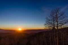 Sunset at Ski Santa Fe (Moogul) Tags: nikon coolpix coolpixa dx compact sunset santafe newmexico ski