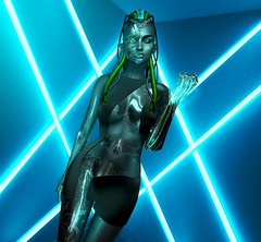 Specimen F4-0209 (Aleriah.) Tags: foxcity eliavah ay ysys lelutka maitreya kaithleen cosmopolitan robot scifi