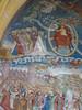 Weltgerichtfresko,St. Lorenzen im Lesachtal (edelmauswaldgeist) Tags: österreich freske malerei engel heilige burg tote gräber christus menschen