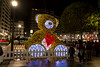 Plaza Seis de Agosto. Gijón. Iluminación navideña 17-18. (David A.L.) Tags: asturias asturies gijón gijon noche nocturna navidad navideña iluminación luces oso figura