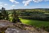 Dvardalen med härlig sol (Pernilla Lindblom) Tags: view skog sommar nature sweden utsikt natur summer vandring forest hiking outdoors woods dvardala sverige trekking östergötland
