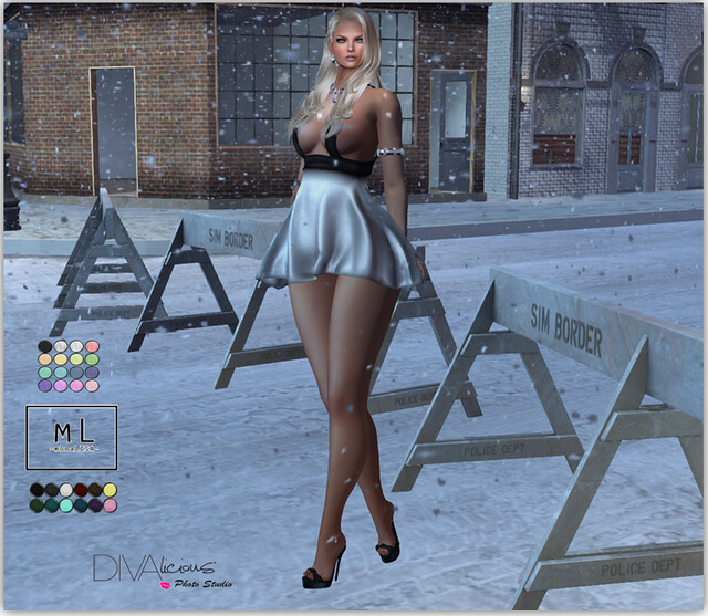 mL Damaris Dress (v 2) & mL Lea Heels
