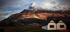 Pap of Glencoe (red.richard) Tags: mountain pap glencoe snow view landscape