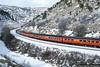 Utah Statehood Centennial Train (jamesbelmont) Tags: southernpacific statehood centennial utah kyune pricecanyon drgw daylight sd70m railway