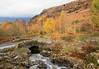 Ashness Bridge (maureen bracewell) Tags: lakedistrict autumn bridge landscape mist road stream trees borrowdale watendlath cumbria england uk packhorsebridge cannon maureenbracewell nature