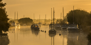 Morning Mist on the Frome