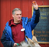 Advice from Dr. Denish (MTSOfan) Tags: drdenish veterinarian teaching explaning carrot donkeys barn adamdenish drd
