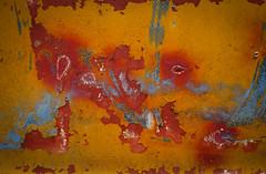 Junkyard Abstract (jtr27) Tags: dsc04977l jtr27 sony alpha alpha7 a7 ilce7 emount mirrorless fullframe canon fd fdn nfd 50mm f14 manualfocus junkyard maine peelingpaint newfd