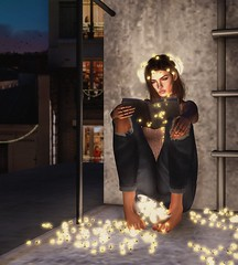 406.p180 | My very own kind of Christmas... (trendyandcoffee) Tags: kustom9 k9 doux attic emery events secondlife sl art artist christmas