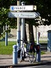 French - Belgian Border (radio53) Tags: france belgium cycling bicycle touring dawes border frontier