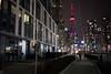 Night Stroll in Toronto (Aymeric Gouin) Tags: canada ontario toronto city ville architecture cntower street rue fujifilm xt2 travel voyage skyscraper night nuit mood evening silhouette aymgo aymericgouin