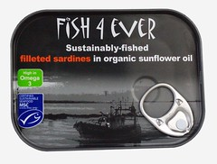FE002 Sardine Fillets in Org. Sunflower Oil (OrganicoRealfoods) Tags: fish productshot uk english can sunfloweroil sardines